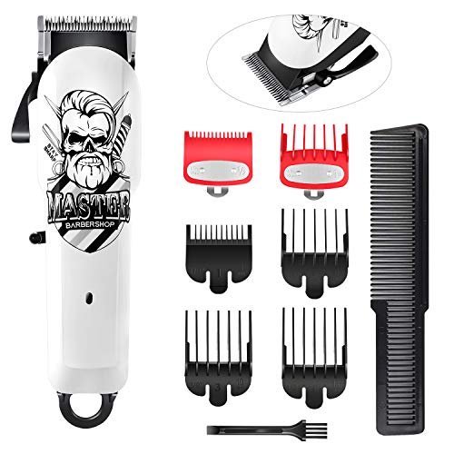 SURKER Haarschneidemaschinen für Männer Professionell Schnurloser Haarschneider Bartschneider Haarschnitt-Pflegeset Barber Haarschneider Wiederaufladbar Wasserdicht