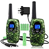 Rechargeable Walkie Talkies for Kids / Adults with Charger and Batteries Long Distance