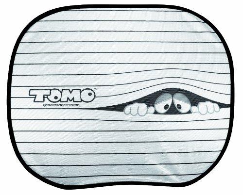 """Cartrend 95110 Sonnenschutz """"Tomo"""" mit Saugnapf, 44 x 36 cm"""