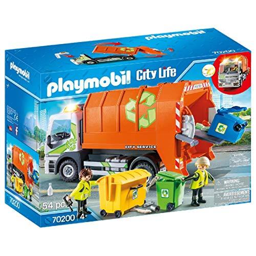 Playmobil - Camion de Recyclage Poubelle - 70200
