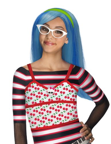 Generique - Perruque Ghoulia Yelps Monster High Fille