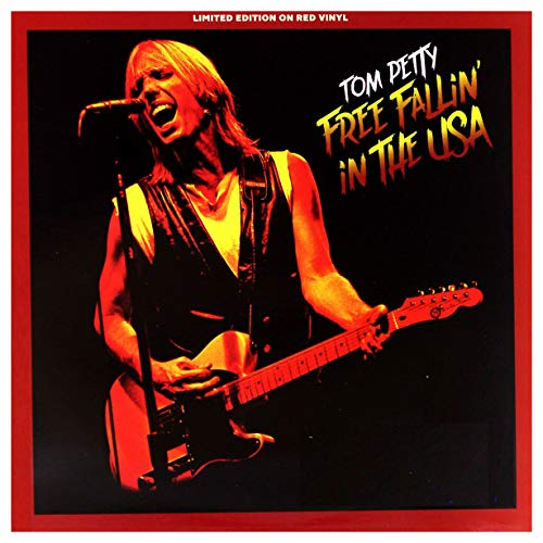 TOM PETTY - FREE FALLIN' IN THE USA: LIMITED EDITION ON RED VINYL