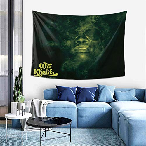 VirgieBSmith Wi-z KHA-LIFA Rolling Papers Wall Tapesty Hanging Mystic,Trippy,Psychedelic,Artistic Tapestry,Multipurpose Tapestry,Tapestries 60x40inch
