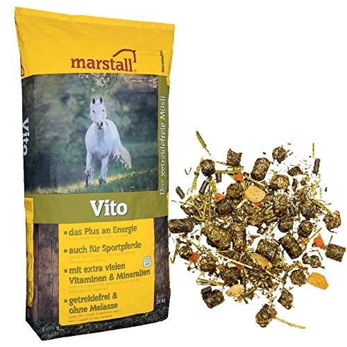 marstall Premium-Pferdefutter Vito, 1er Pack (1 x 20 kilograms)
