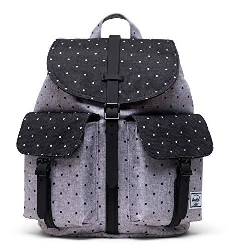 Herschel Dawson Backpack XS Polka Dot Crosshatch Grey/Black