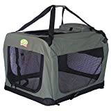 Go Pet Club Dog Pet Soft Crate, 28-Inch, Sage