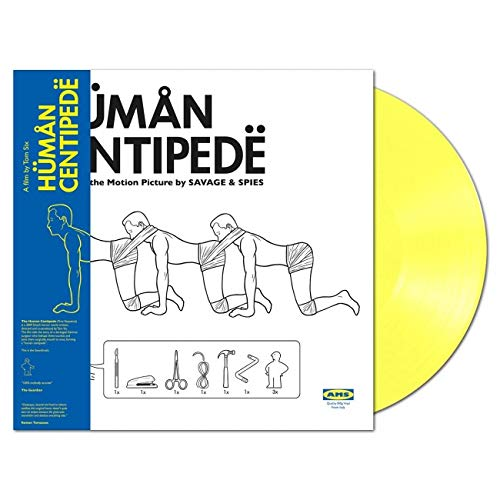 The Human Centipede (180 Gr. Vinyl Yellow + Tattoo Limited Edt.)