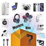 GPFFACAI Mystery Box Mystery Box Gamer Contiene Regalos Inesperados, como Drones, Relojes Inteligentes, Altavoces Bluetooth, Cámaras Digitales, Etc.Todo Es Posible
