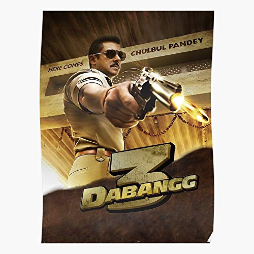 Salman Hindi Panday Actor Bollywood India Khan - Films- Impressive and Trendy Poster Print Decor Wall or Desk Mount Options I/Customize