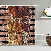 シャワーカーテン古代エジプトの壁画防水バスカーテンフックに含まれるdBathroom装飾的なアイデアポリエステル生地アクセサリー