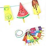 SUNBEAUTY Eis Girlande Sommer Party Dekoration Kinderzimmer Deko