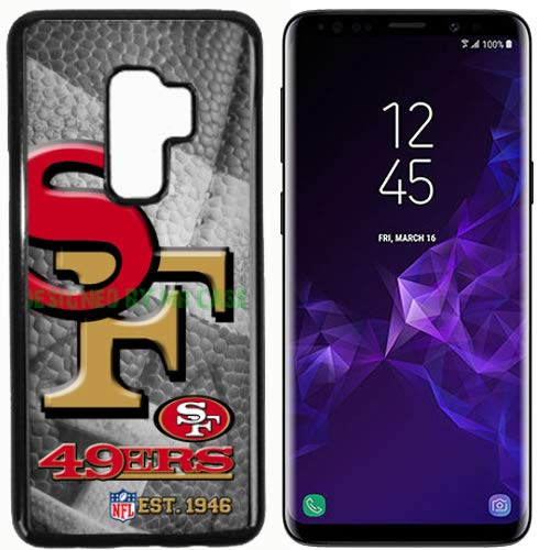 49ers San Francsco Football New Black Samsung Galaxy S9 Case by Mr Case