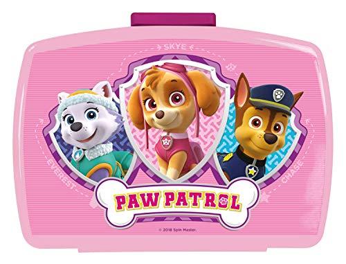 p:os Paw Patrol Girls Boîte à goûter Modèle aléatoire