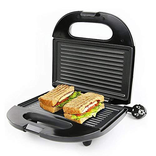 CHENJIA Casa eléctrica Plancha Desayuno máquina sándwich Hamburguesa panqueque Fabricante Hornear Plato Pan tostadora calefacción de Doble Lado
