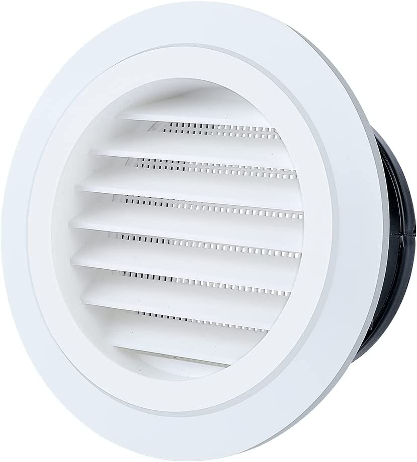 Livtor 5 Inches Soffit Vent Import Max 77% OFF Grille Round Buil Lourver Cover with