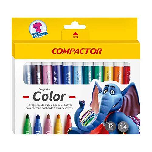 Hidrográfica Compactor 2808 Color - 12 Cores - 000081000