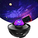 Star Projector Ocean Wave Night Light Projector with Bluetooth Speaker,Sky Night Light with Remote Control Star Light Projector for Bedroom/Game Rooms/Home Theatre/Night Light Ambiance