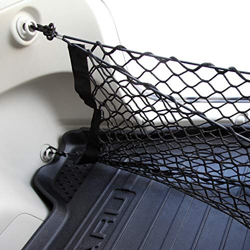 LT Sport 41x23 Double Layer Envelope Elastic Nylon Rear Trunk Cargo Net Storage