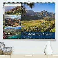 Wandern auf Hawaii - Berge im Pazifik (Premium, hochwertiger DIN A2 Wandkalender 2022, Kunstdruck in Hochglanz): Hawaii ist mehr als nur Surfen. Auf allen Inseln laesst es sich grossartig Wandern. (Monatskalender, 14 Seiten )