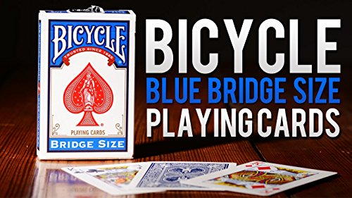 Caja de barajas BICYCLE Bridge (12 Azul)