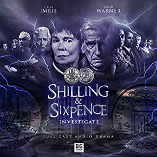 Shilling & Sixpence Investigate                   By:                                                                                                                                 Nigel Fairs                               Narrated by:                                                                                                                                 Celia Imrie,                                                                                        David Warner,                                                                                        Matthew Waterhouse,                   and others                 Length: 4 hrs and 50 mins     24 ratings     Overall 4.6
