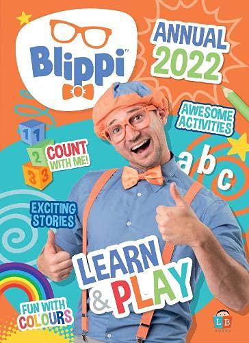 Blippi Official Annual 2022
