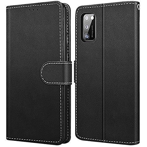 WE LOVE CASE Hülle für Samsung Galaxy A41, Schutzhülle/Klapphülle Flip Leder Hülle Abnehmbare Tasche mit Standfunktion Handyhülle mit Kartenfächer Magnetverschlüsse für Samsung A41
