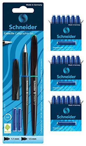 Schneider 76930 - Juego de caligrafía, 1 - Pack, 1