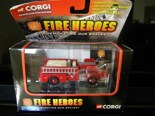CORGI - Authentic Replica - Showcase Collection - Fire Heroes - 1960 ALF 900 Series Pumper CS90057