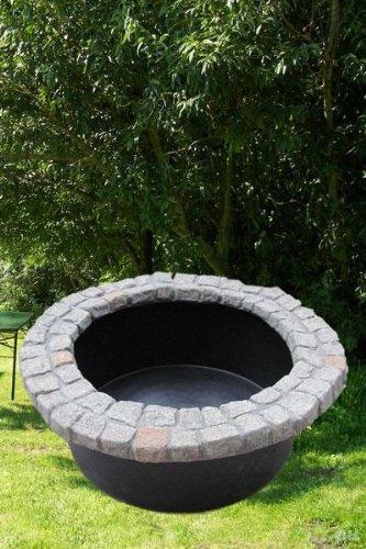 Beckenrand-Abdeckung im Granit-look 120 cm