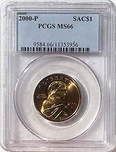 2000 P Sacagawea Dollar MS 66 Blue Label PCGS