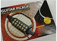 Pichidr-JP 簡単 アコースティックギター を エレアコ に!ギター ピックアップ 穴開け加工不要