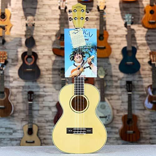 Ukulele, 26 Zoll Tiger Grain Maple Spruce Furnier Light Ukulele Kleine Viersaitige Gitarre
