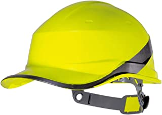 HongTong Hard Hat with Safety Helmet, ABS Construction Site Insulated Lightweight Protective Cap (Color : Yellow)