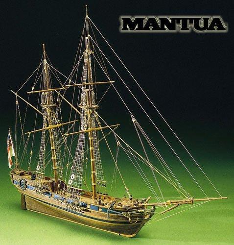 Mantua Model Sergal Race Horse Nave Kit in Legno Scala 1:47 590 mm 793 By