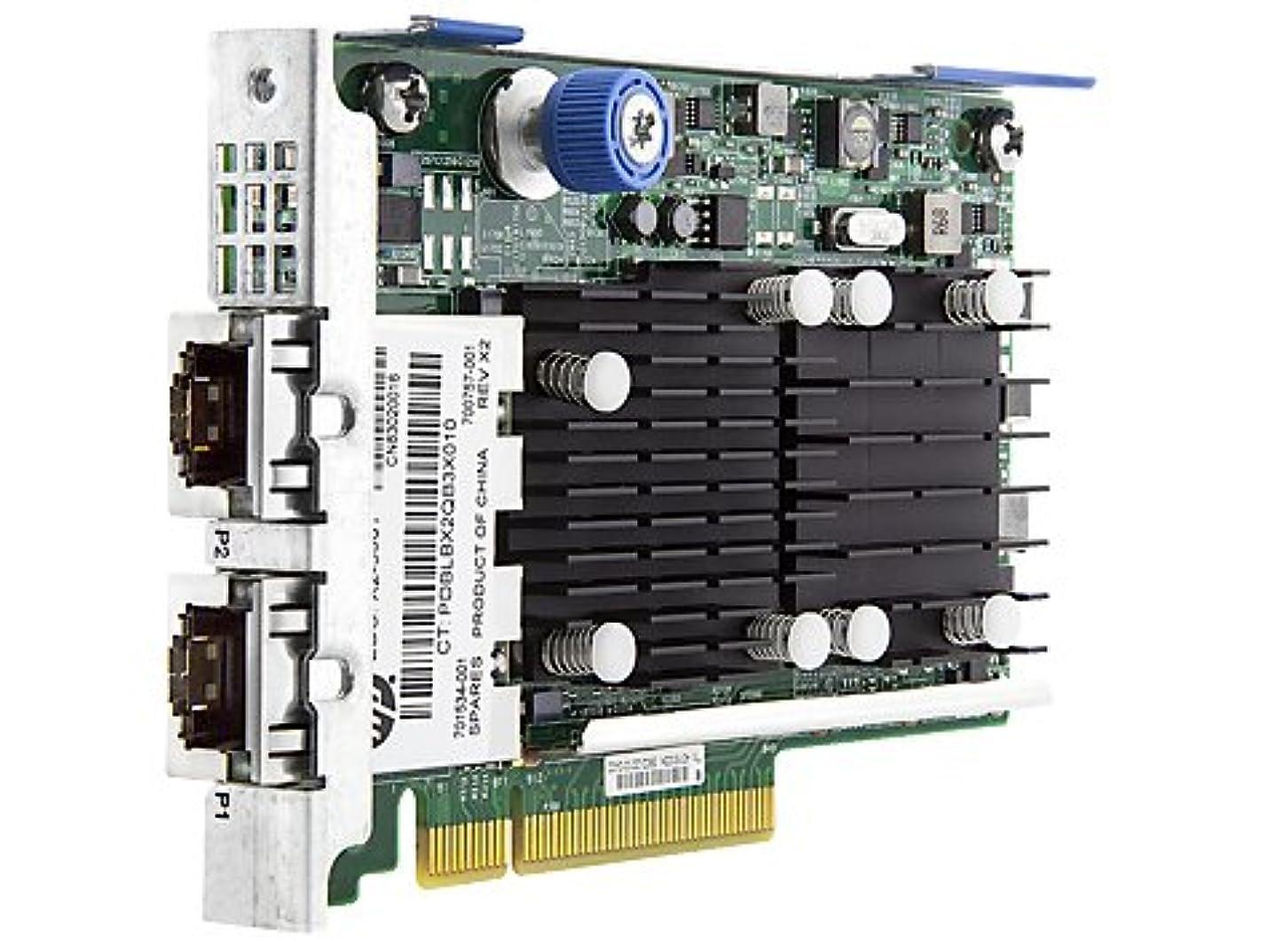 パノラマたとえ靄HP 700759-B21 FLEXFABRIC 10GB 2ポート 533FLR-Tアダプター