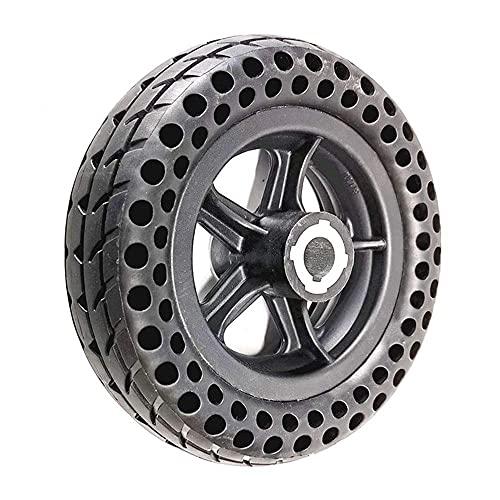 Neumáticos de Scooter eléctrico, 200x60 Juego de Ruedas de neumático Macizo con Forma de Panal, Compatible con Scooter/Robot/Equipo médico Elder de 8 Pulgadas, Rueda Maciza de 19 mm