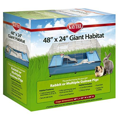 Kaytee My First Home Giant Pet Habitat, 48' x 24' x 16.5'