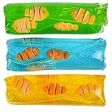 Rhode Island Novelty 4.75' Clownfish Water Wiggler