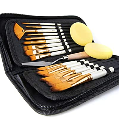 Artify 15 Paint Brush Set (Three in one)