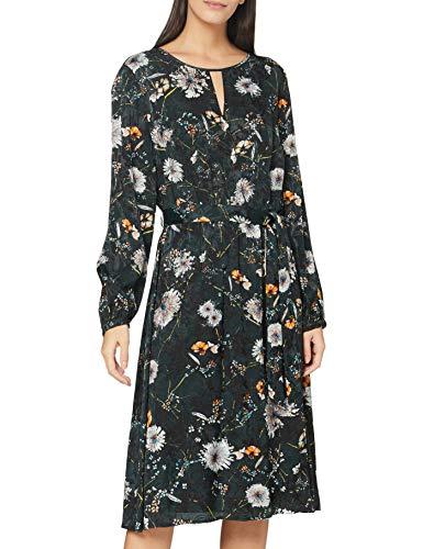 GERRY WEBER Womens Kleid Gewebe Casual Dress, Grün Mint Druck, 42