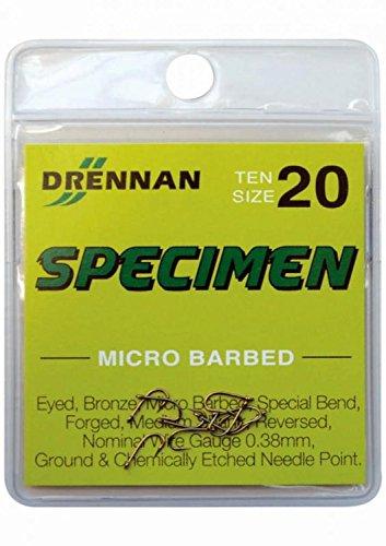 Drennan Specimen Micro Barbed: Size 14