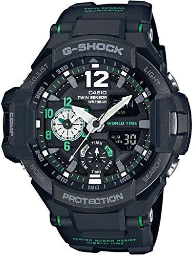 [カシオ] 腕時計 ジーショック GRAVITYMASTER GA-1100-1A3JF ブラック