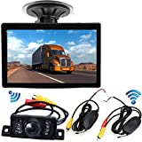 Vehicle Car Rear View Reversing Cameras System,Wireless 5 Inch Display Color Screen