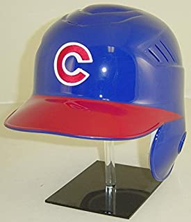 authentic cubs batting helmet