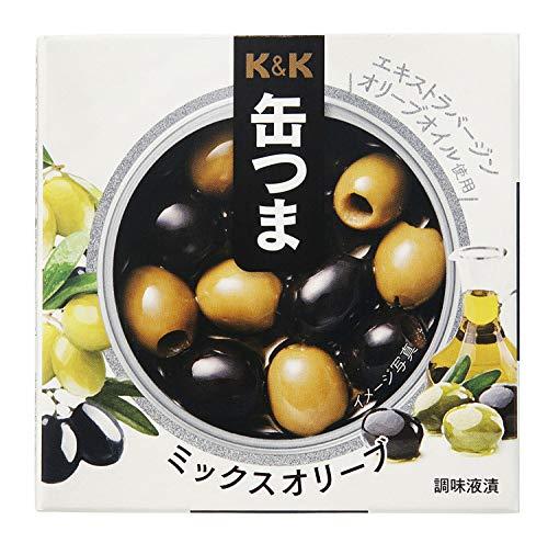KK 缶つま ミックスオリーブ 60g