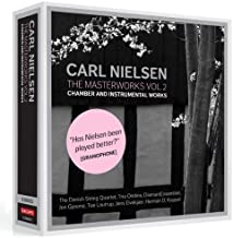 Nielsen: The Masterworks Vol. 2 (Chamber And Instrumental Works 6 Cd Box) (Dacapo: 8206003) by The Danish String Quartet (...