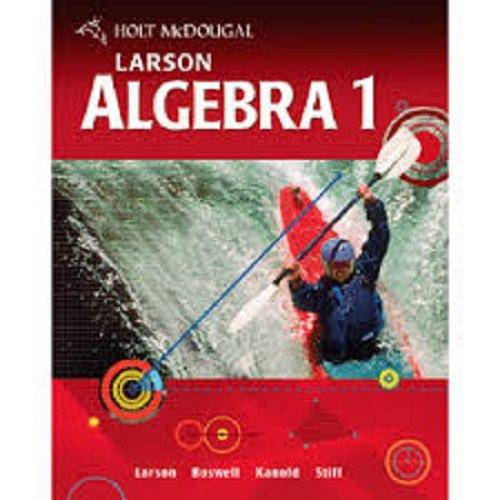 McDougal Littell High School Math: Teachers Resource Package Algebra 1 by MCD...