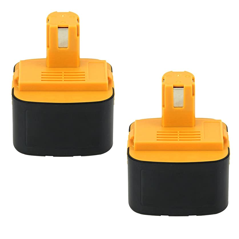 画家リムモスパナソニックEZ9200 パナソニック12V EZT901互換バッテリー 12V 3.0Ah ニッケル水素電池 2個セット