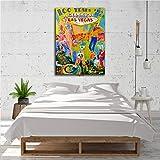 adgkitb canvas 50x70cm SIN Marco Cena, decoración del hogar, Pintura al óleo a5